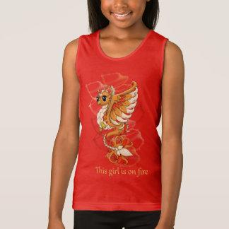 Phoenix Girl's Tank Top