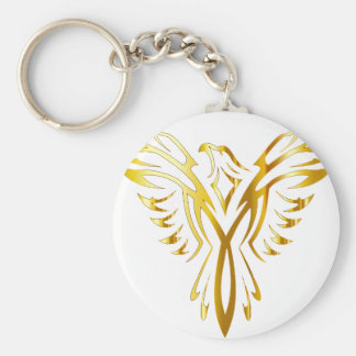 phoenix gold key ring