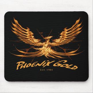 Phoenix Gold Mouse Pad