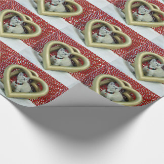 Phoenix Hearts For You Wrapping Paper (Valentine)