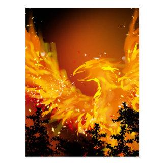 Phoenix in Flight Postcard