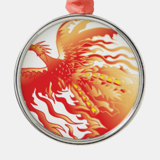 Phoenix Metal Ornament