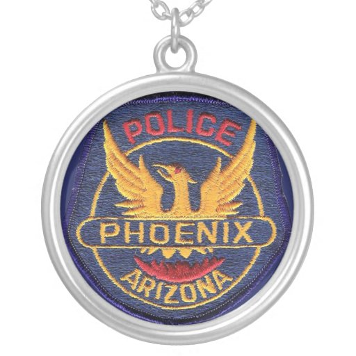 Phoenix Police Medallion Custom Necklace