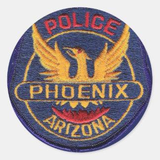 Phoenix Police Sticker