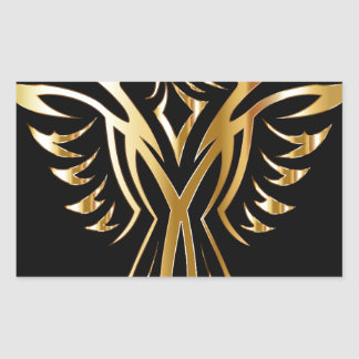 phoenix- rectangular sticker