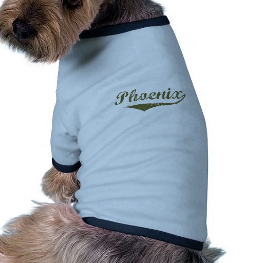 Phoenix  Revolution t shirts Pet Clothes