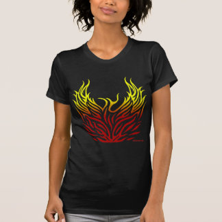 Phoenix Rising from the Flames Tee Shirt