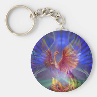 Phoenix Rising Key Chain
