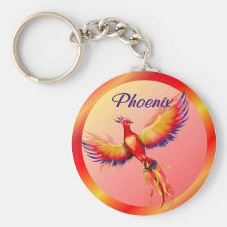 Phoenix Rising Key Ring