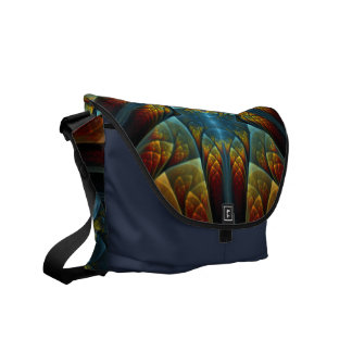 Phoenix Rising Messenger Bag