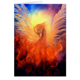Phoenix Rising Notecard