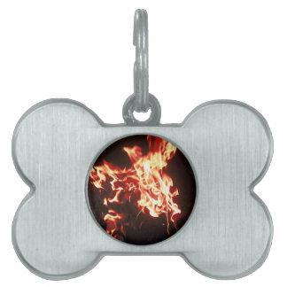 Phoenix rising pet tags