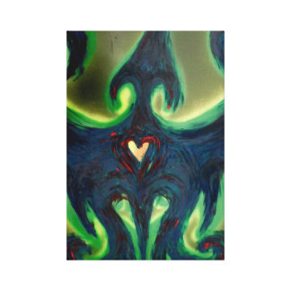 Phoenix Rising Wrapped Canvas Print