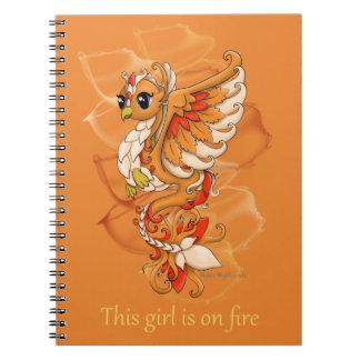 Phoenix Spiral Notebook