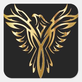 phoenix- square sticker