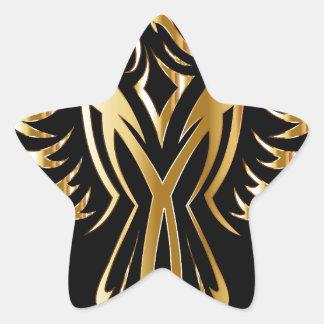 phoenix- star sticker