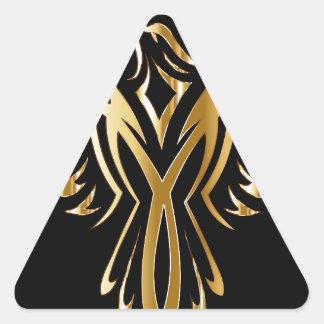 phoenix- triangle sticker