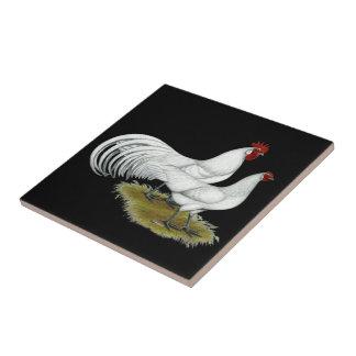 Phoenix:  White Pair Tile