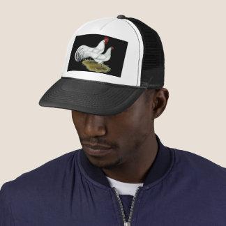 Phoenix:  White Pair Trucker Hat