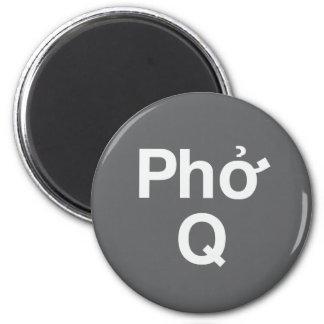 Phok Q 6 Cm Round Magnet