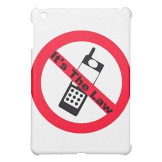 Phone Ban It's The Law iPad Mini Cover