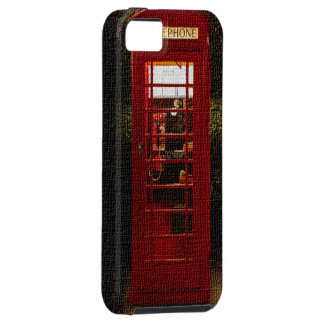 Phone Booth Canvas iPhone 5 Cases