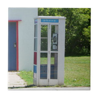 Phone Booth Ceramic Tile