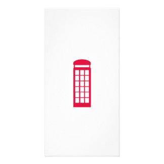 phone booth custom photo card