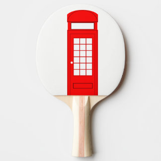phone booth ping pong paddle