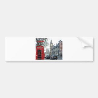 Phone Box London Big Ben (St.K) Bumper Sticker