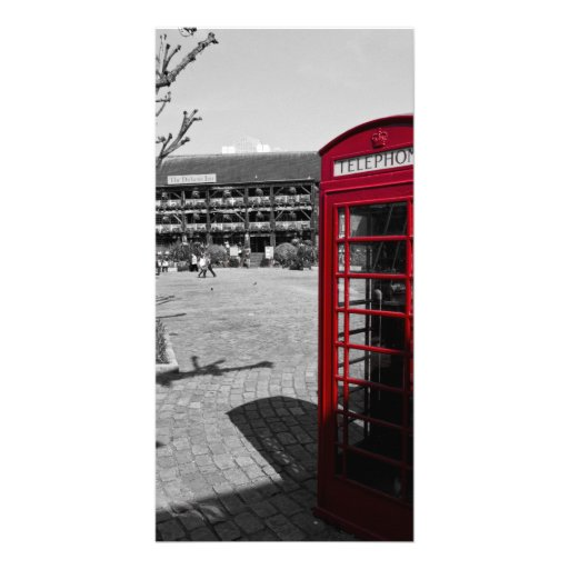 Phone Box London Photo Card