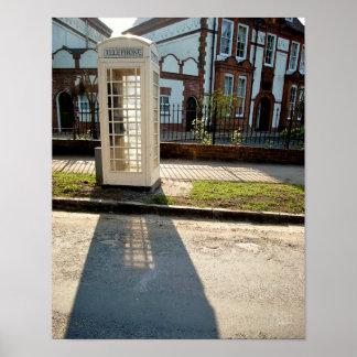 Phone Box, Salisbury Ave. [Art Print]