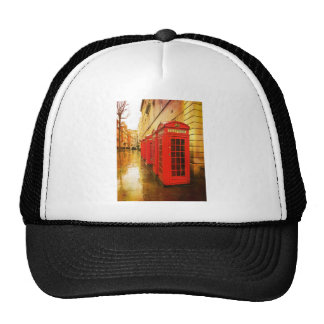 Phone boxes trucker hats