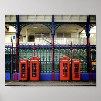 Phone Boxes, Smithfield [Art Print]