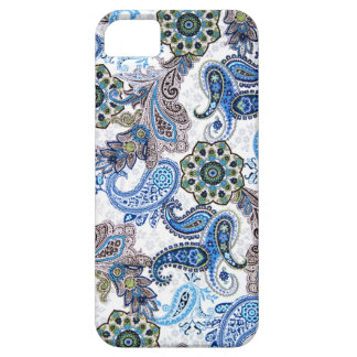 phone case-blue paisley-Blackberry-Samsung iPhone 5 Covers
