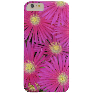 Phone case bright pink yellow centered flowers
