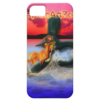 phone case, fire dragon case for the iPhone 5