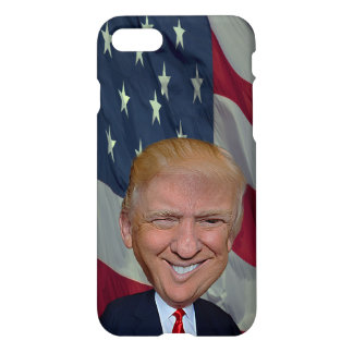 Phone Case for Iphone with caricature Donald Trump