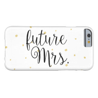 Phone Case - Gold Dots future Mrs.