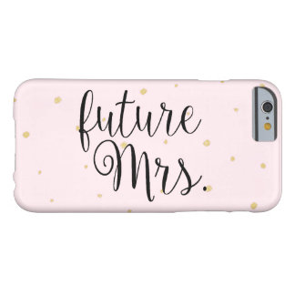 Phone Case - Gold Dots future Mrs. Pink