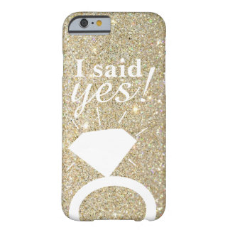 Phone Case - Gold Fab I said yes!