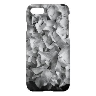 Phone Case iPhonr 8/7  Hydrangea Black and White