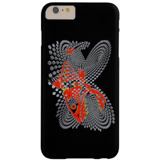 Phone case modern design angry fish