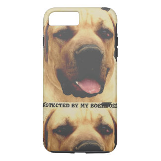 Phone case protected by boerboel