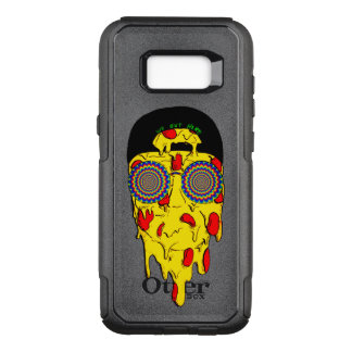 Phone case Psychedelic pizzza face - DEEP SPACE