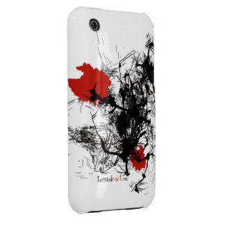 """Phone Case """"Red Flowers"""""""