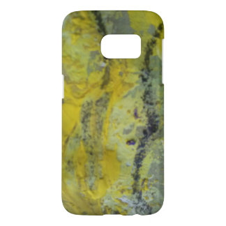 Phone case with painting detail