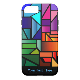 """Phone Case with """"Stained Glass"""" design"""