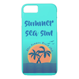 phone case with summer  draw