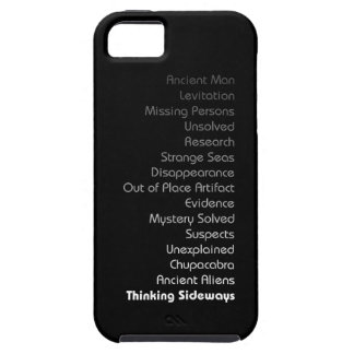 Phone case with text-dark colors